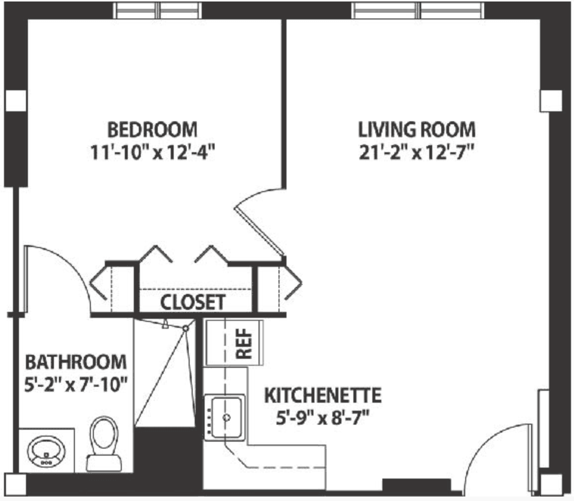 Sunflower Floor Plan