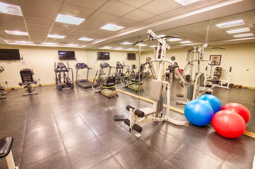 senior living rehabilitation exercise room