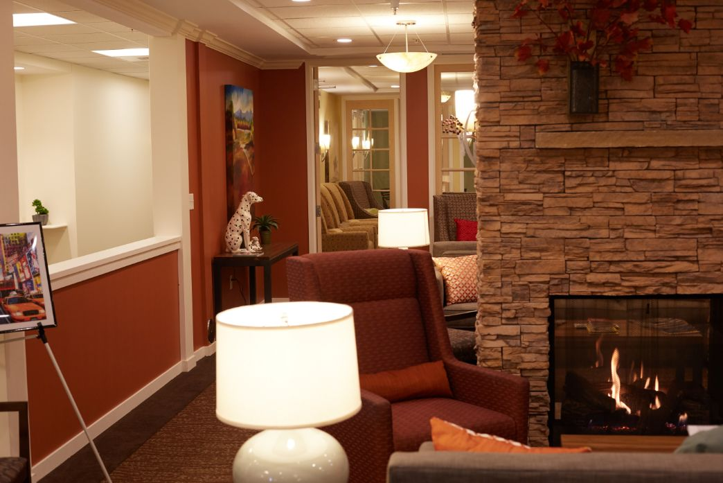 senior living waiting room